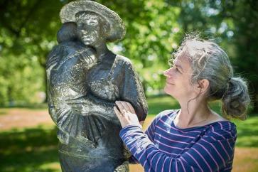 Portrait of Winnie gebhardt